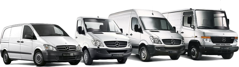 Commercial Mercedes Vehicles